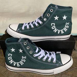 CONVERSE CTAS HI FADED SPRUCE/BLACK/WHITE MENS